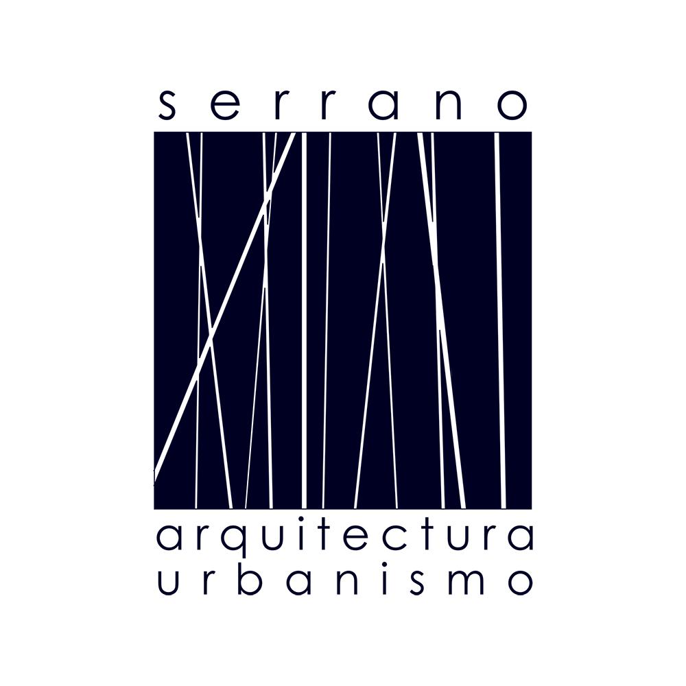 Logo Serrano Arquitectura círculo