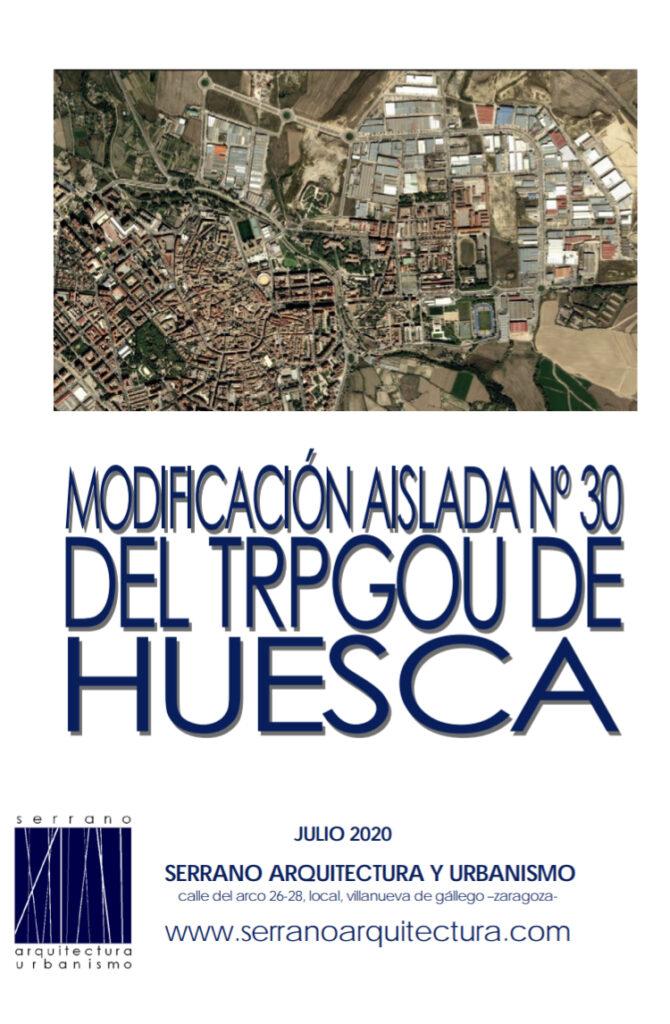 MODF 30 PGOU HUESCA