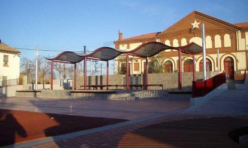 Plaza Estación Zuera 2